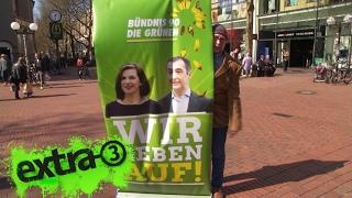 Bündnis 90/Die Grünen: Wir geben auf!