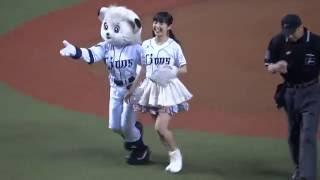 2016年9月9日(金)ライオンズファンで埼玉県出身のSKE48 惣田紗莉渚さんが、西武プリンスドームに登場し、自身初の始球式を行いました! 練習風景の様子はこちら ...
