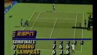 Australian Open 1993 SF Edberg vs Sampras 13/14