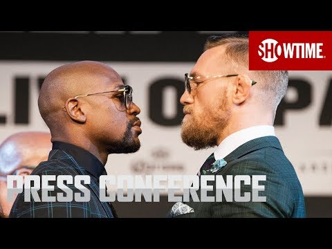 Mayweather vs. McGregor: Final Press Conference | Sat., Aug.