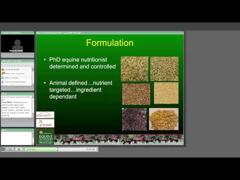 Beyond the Feed Tag: Horse Feed Ingredient, Quality, Formulation and Safety Issues