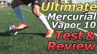 Ultimate Nike Mercurial Vapor 10 Test & Review!!