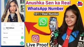 Anushka sen ka New phone number anushka sen ka New WhatsApp Number i chat II Yadav ji Techanical