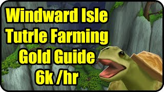 WoW Gold Farming Patch 6.2.2: Windward Isle Gold Making - Potion of Luck Farming - WoD Gold Guide