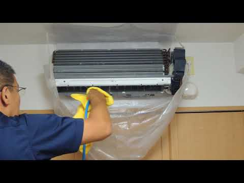 Split Air Conditioner Cleaning【Japanese Style】
