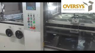 VIDEO OVERSYS U51541019 BOBST SPO 160 VISION FLAT BED DIE CUTTER WITH EASYLOADER