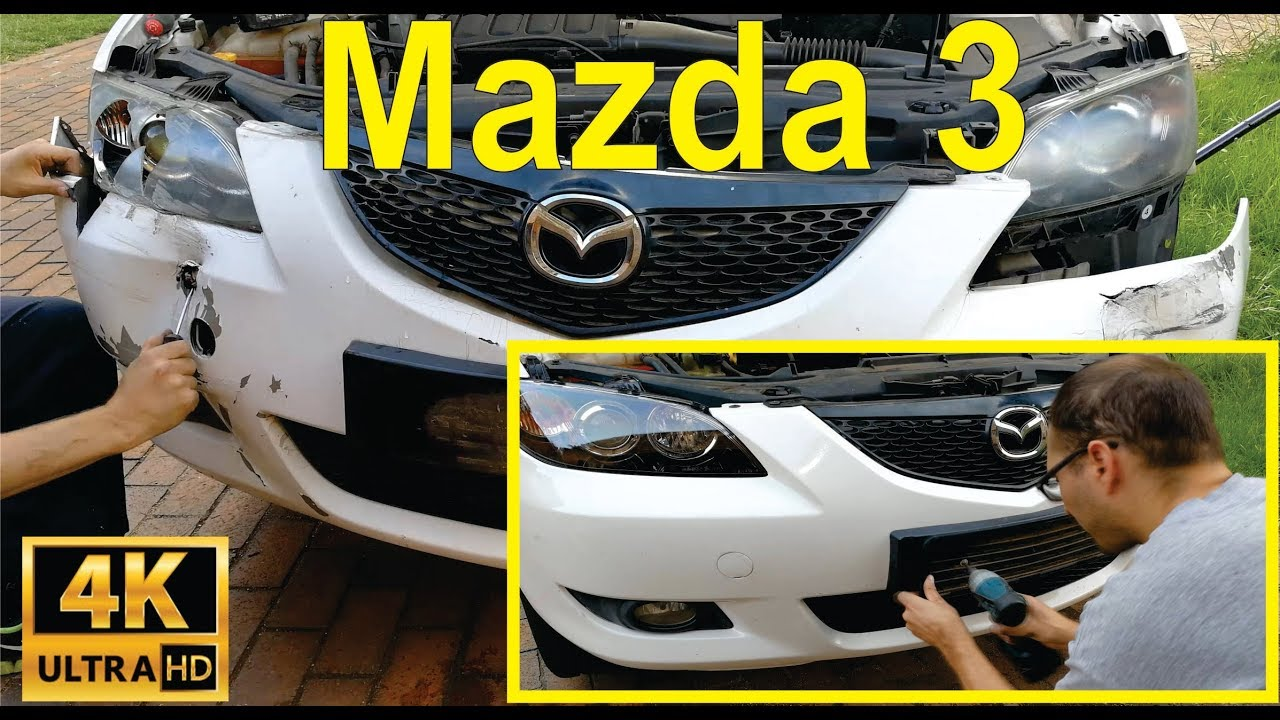 How To Change The Front Headlight And Per On A Mazda 3 Detailed