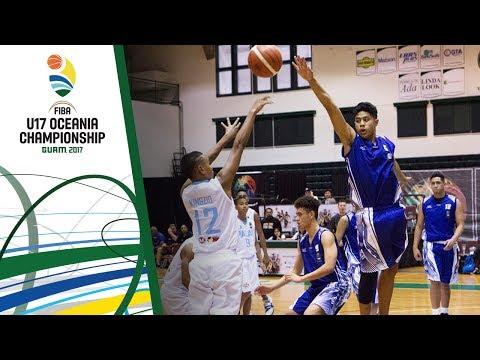 Palau v Samoa - Full Game - FIBA U17 Oceania Championship 2017