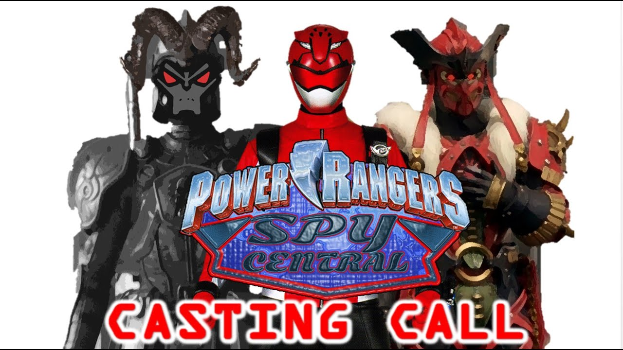 Power Rangers Spy Central Cast You Could Be The Red Ranger Or