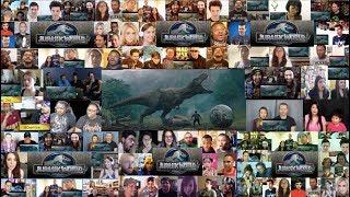 Jurassic World Fallen Kingdom - Final Trailer [HD] MEGA REACTIONS MASHUP