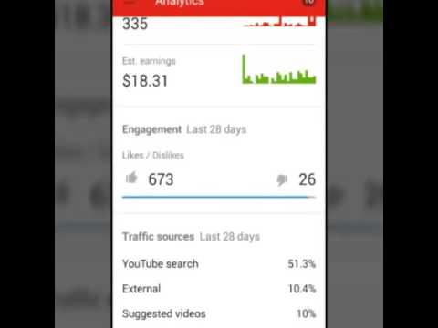 YouTube creator studio: check your channel stats!! MTR ...