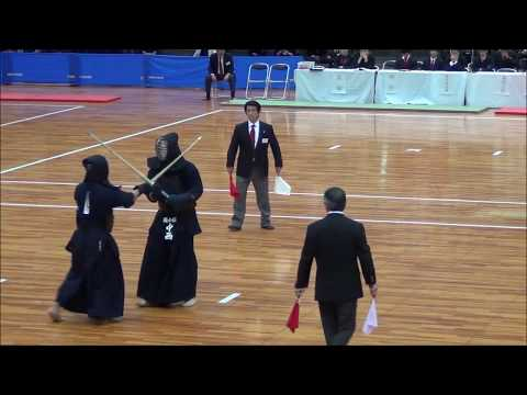 國士舘大 対 筑波大〈準決勝〉第66回全日本学生剣道優勝大会
