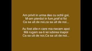 Chriss ( JustUs ) - Ca sa uit de noi Lyrics