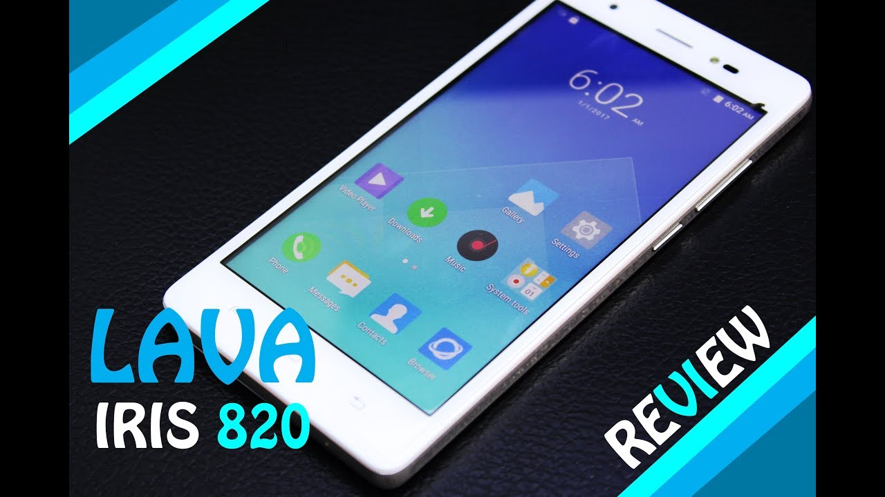 the latest a24a3 1b696 LAVA IRIS 820 review