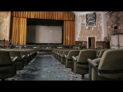 Abandoned Vintage 1970's Movie Theater With Bonus Footage