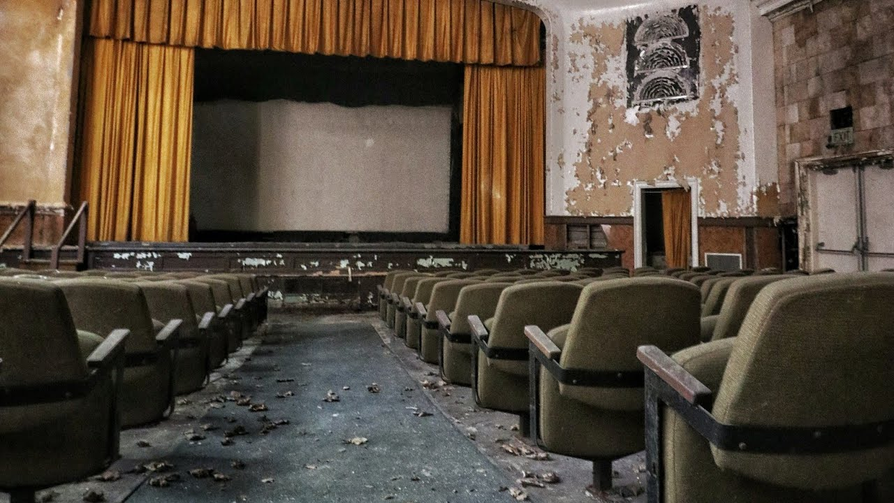 Abandoned Vintage 1970 S Movie Theater With Bonus Footage