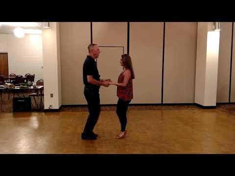 Salsa Cross Body Lead to Single Head Wrap and Double Head Wrap