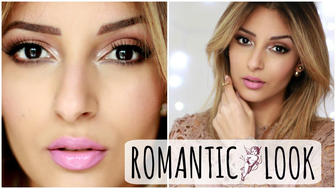 Romantic Make Up Maquillage Saint Valentin facile - YouTube