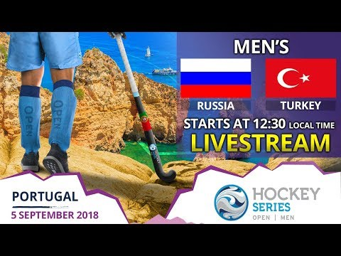 Russia V Turkey | 2018 Men's Hockey Series Open | FULL MATCH LIVESTREAM