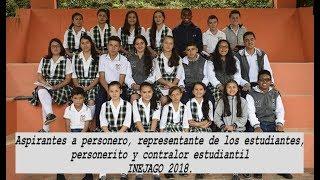 El 8 de marzo de 2018 se elegirán en INEJAGO los líderes estudiantiles