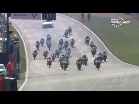 2014 Pirelli National Superstock 1000 Brands Indy Round 1 HIGHLIGHTS