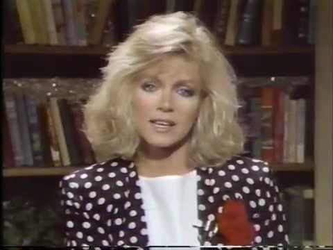 "Donna Mills on ""Good Morning America"" in 1986"