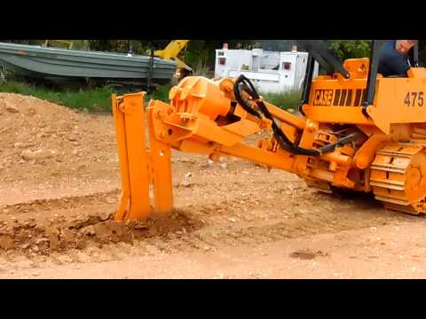 Case Crawler Cable Plow