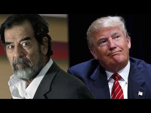 Donald Trump Stands Up for Saddam Hussein and Muammar Gaddafi