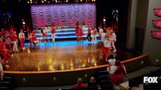 """I lived"".  The Last and final full scene and performance of glee. (You will be missed. Forever)."