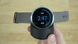 Moto 360 Unboxing and First Look!(Click