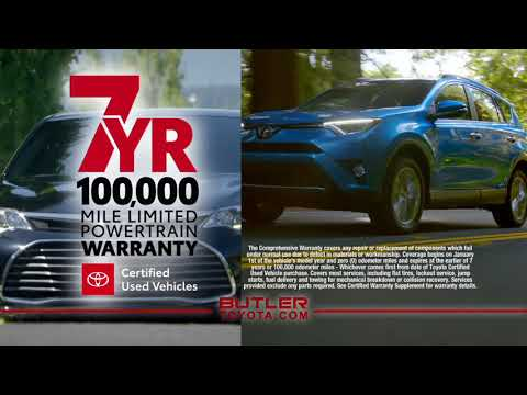 Butler Toyota Certified Used Vehicles