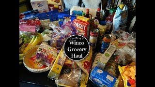 Winco Grocery Haul & Two Week Meal Plan