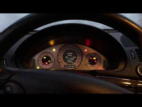 Cold Start: Mercedes E320 Avantgarde Facelift W211