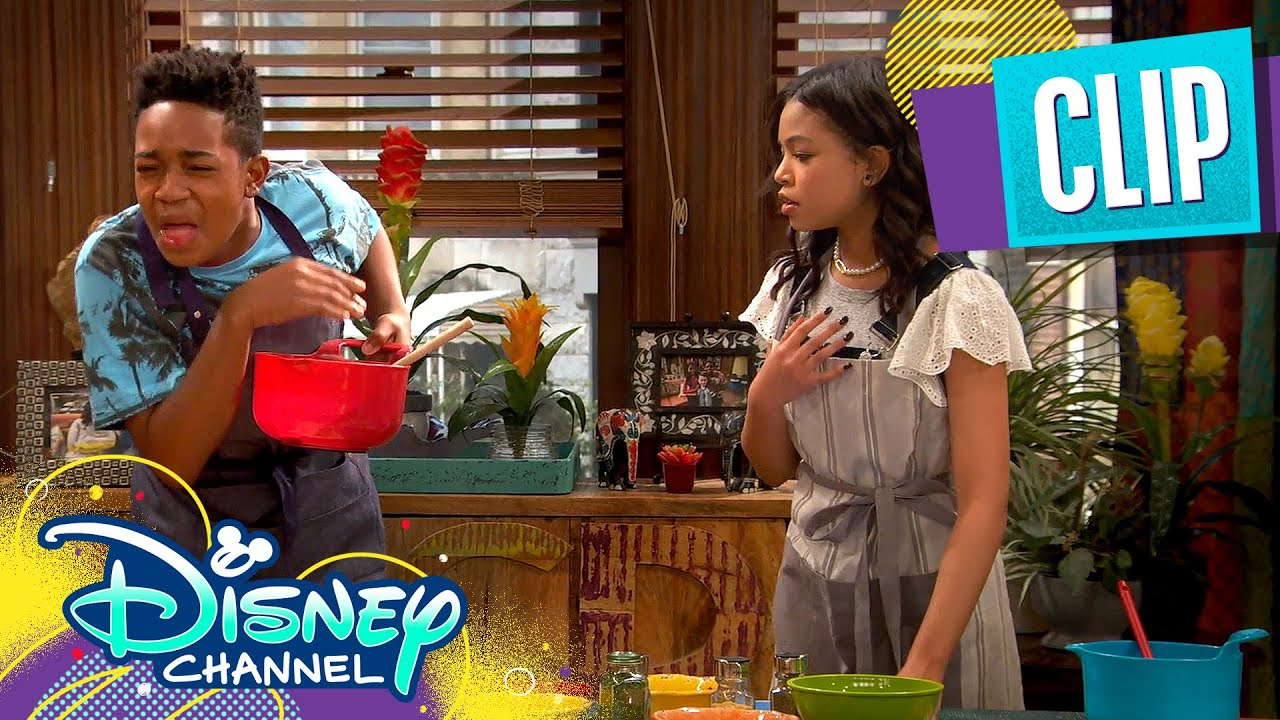 Download Booker and Nia Get Jobs ☕  | Raven's Home | Disney Channel