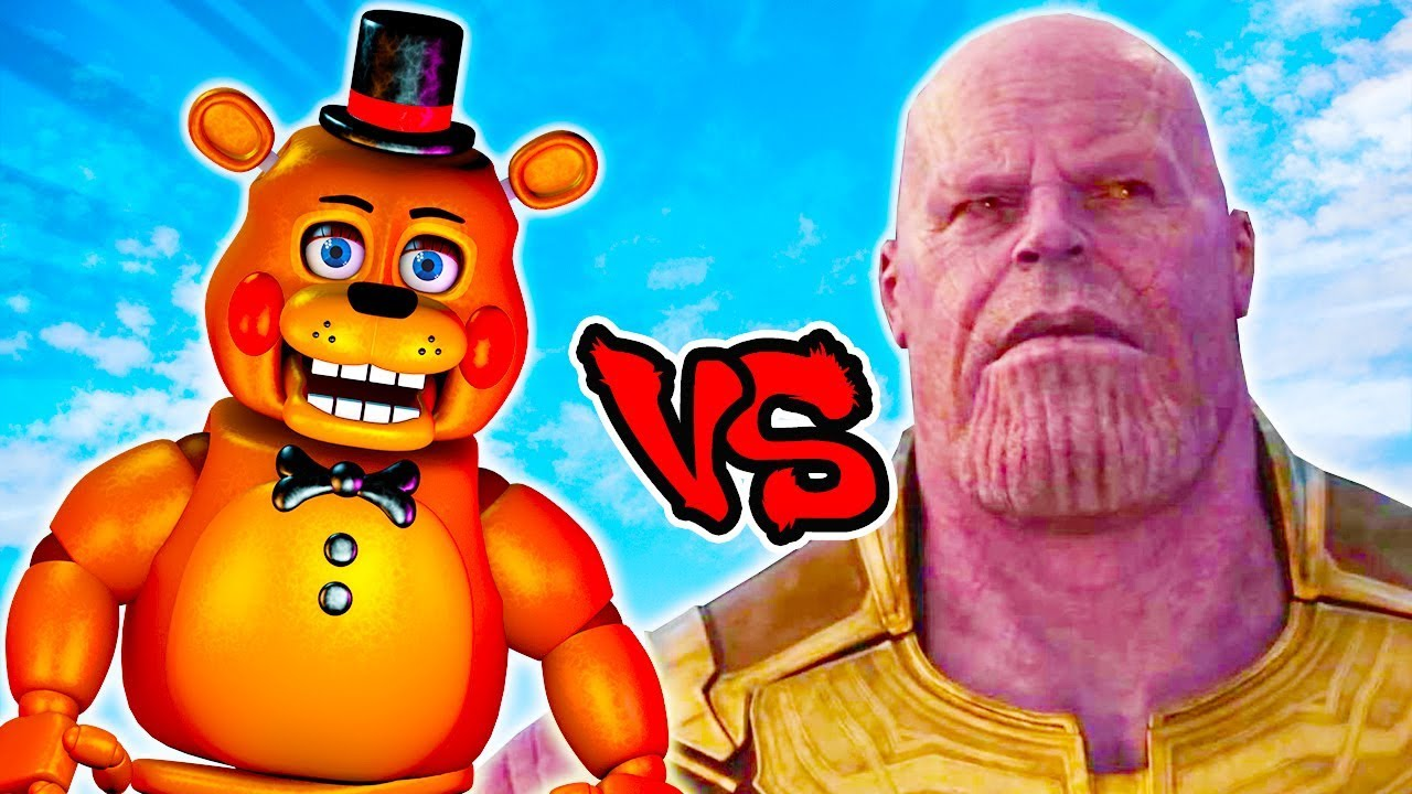 Toy Freddy Vs Thanos - Epic Battle - Left 4 dead 2 Gameplay (Left 4 Dead 2  Thanos Mod)
