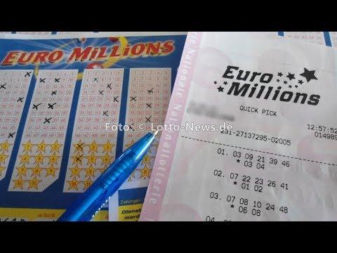Euromillionen Gewinnzahlen
