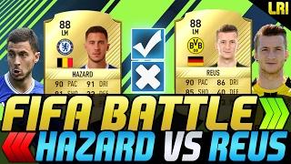 FIFA 17 - FIFA BATTLE! HAZARD VS REUS! - FIFA 17 ULTIMATE TEAM