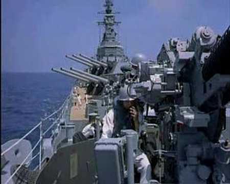 USS Salem, CA139, as the Graf Spee