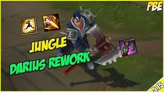 ✔ DARIUS REWORK IS BROKEN - Jungle Academy Darius - PBE Full Commentary | League of Legends