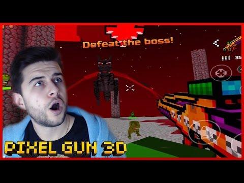 EPIC DRAGON BOSS BATTLE! WORLD 2 CAMPAIGN Pixel Gun 3D