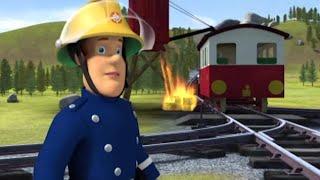 Feu à la gare! ⭐️Sam le Pompier | Épisodes complets | Les dessins animés