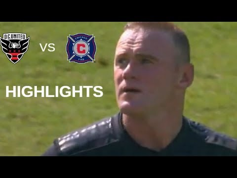 Wayne Rooney vs Chicago Fire Highlights | D.C. United vs Chicago Fire 07/10/2018