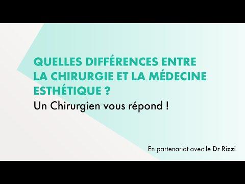 Différences Entre Chirurgie Esthétique Et Médecine Esthétique - Un Chirurgien Vous Répond !