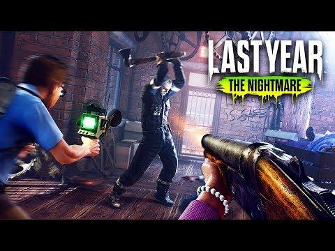 EVERYONE vs THE KILLER!! (Last Year: The Nightmare)