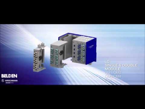 Belden's Modular Industrial Patch Panel (MIPP) For Harsh Industrial Environments