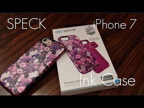 sports shoes 86b26 e70f0 Speck Presidio INKED Case iPhone 7 - Review