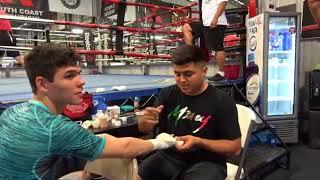 Pita Joking After Robert Says GGG Beats Jaime Munguia My Dad Does Not Know Boxing