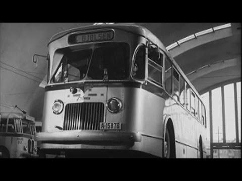 Buss og trikk, 1950