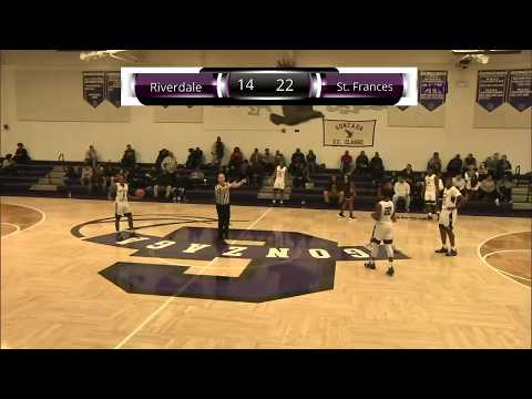2018 Gonzaga DC Classic Game 4: St Frances Academy vs Riverdale Baptist (Part 2)