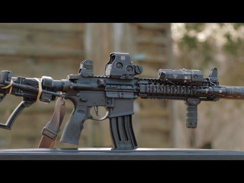 AR15 Rifle Setup